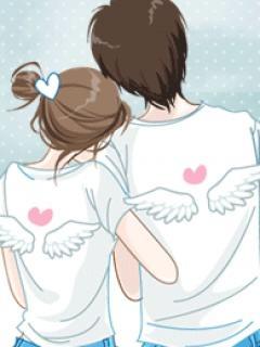 Hình nền tình yêu chắp cánh bay độc đáo