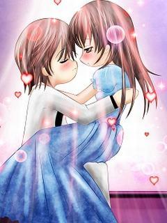 Hình nền tình yêu cute lạc lối