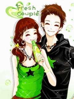 Hình nền tình yêu - Fresh couple