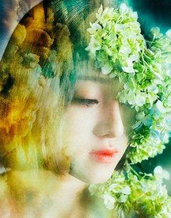 Tải hình nền girl xinh đẹp hơn hoa