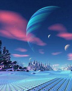 Hình nền 3D - Trái đất đẹp lạ