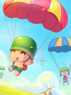 Hình nền hoạt hình – Nào mình cùng bay