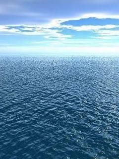 Hình nền mùa hè - Mặt biển gợn sóng cực đẹp cho dế