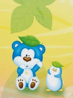 Tải hình nền hoạt hình - Gấu con cực nhí nhố