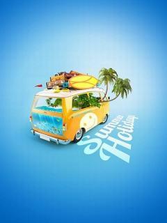 Thích thú với hình nền mùa hè - Summer holiday
