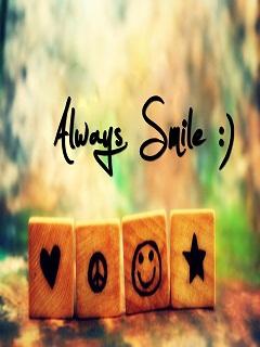 Ảnh đẹp hình nền - Always Smile