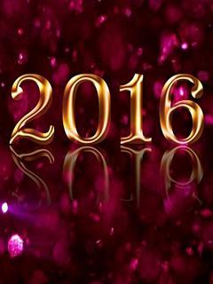 Hình nền năm mới 2016 đẹp hút mắt