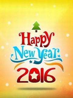 Hình nền năm mới 2016 rực rỡ đầy màu sắc