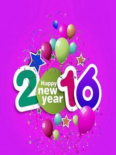 Hình nền năm mới - Happy new year 2016
