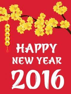 Hình nền tết đẹp đón năm mới 2016
