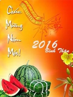 Hình nền tết đón năm mới Bính Thân 2016 đẹp