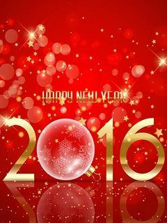 Hình nền năm mới 2016 siêu lung linh