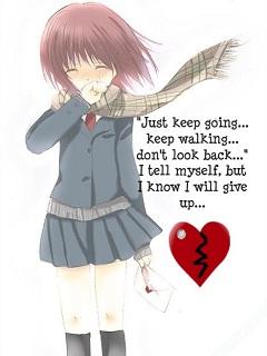 Khóc hết nước mắt với hình ảnh hoạt hình tình yêu buồn