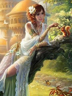 Hình ảnh mỹ nhân 3D đẹp như nữ thần