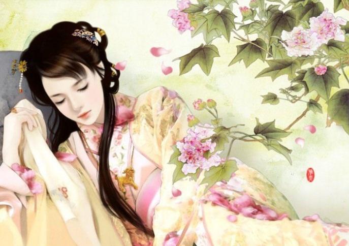 Hình ảnh người đẹp 3D - Mỹ nhân ngủ