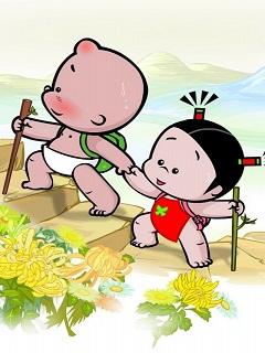 Tải hình hoạt hình tình yêu dễ thương – Đưa nhau đi trốn