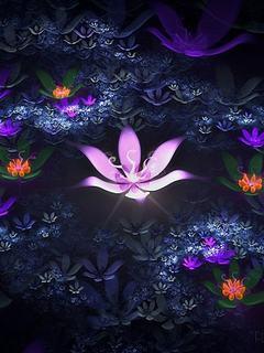Tải ảnh 3D - Hoa đẹp huyền bí