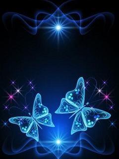 Hình nền 3d miễn phí - Cánh bướm lung linh