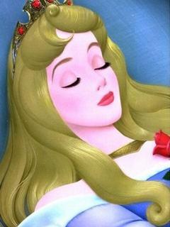Hình nền hoạt hình - Công chúa ngủ trong rừng