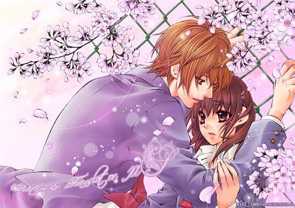 Những hình ảnh hoạt hình về tình yêu đẹp lãng mạn