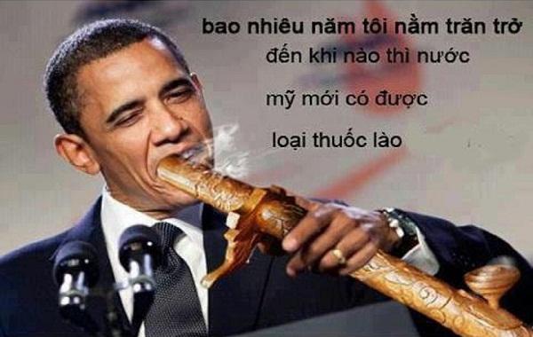 Phì cười với hình ảnh vui chế hài hước về tổng thống Obama