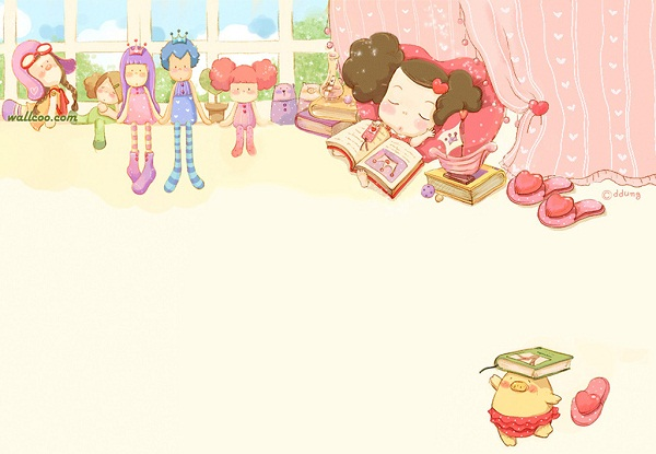 Xem hình ảnh hoạt hình dễ thương đáng yêu nhất