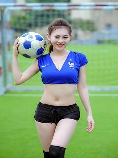 Album ảnh girl xinh xinh hot nhất mùa Euro 2016