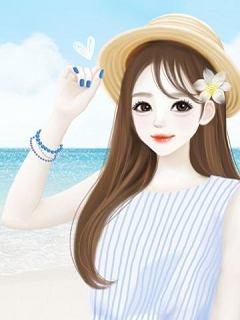 Hình nền hoạt hình girl xinh cực dễ thương