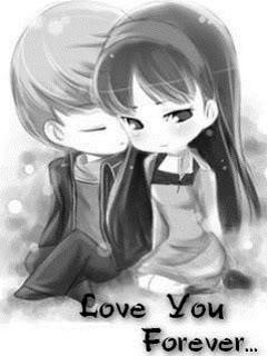 Hình ảnh dễ thương về tình yêu hoạt hình siêu cute
