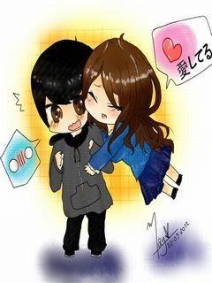 Hình nền tình yêu cặp đôi siêu dễ thương