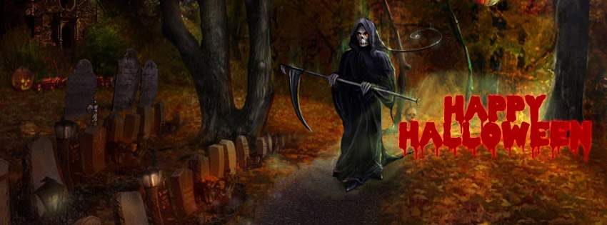 Ảnh bìa Halloween kinh dị cho Facebook của bạn