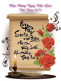 Thiệp chúc mừng 20-11 đẹp và ý nghĩa nhất