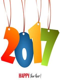 Hình nền năm mới 2017 - Happy new year