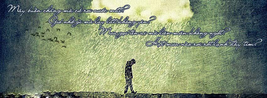 Những hình đẹp cho facebook chủ đề về mưa