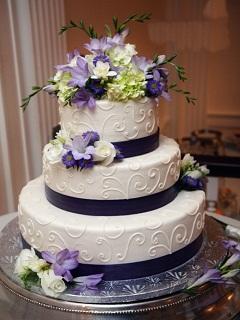 Hình bánh kem cưới đẹp và lãng mạn nhất