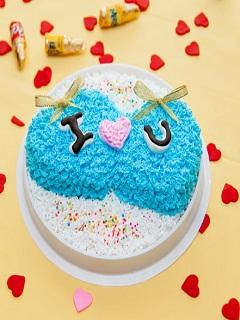 Mẫu bánh kem tình yêu đẹp nhất dành tặng người ấy
