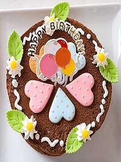 Hình ảnh bánh kem chúc mừng sinh nhật cực ấn tượng