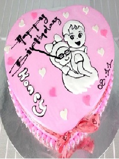 Hình ảnh bánh kem ngọ nghĩnh dành tặng người yêu
