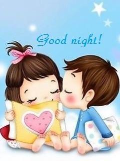 Hình nền tình yêu dễ thương nhất – Good night