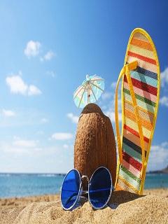 Giải nhiệt cuộc sống bằng bộ hình nền mua hè siêu chất