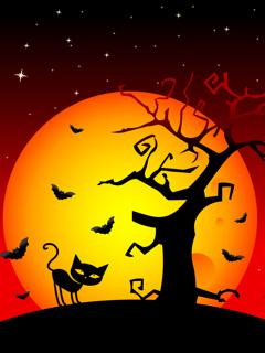 Hình nền halloween cho máy tính đáng sợ