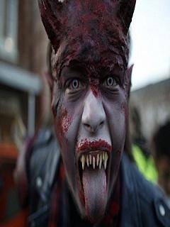 Hình halloween kinh dị nhất thế giới 2017
