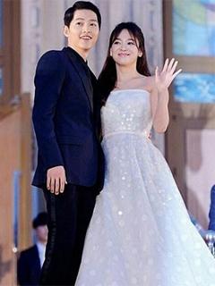 Hình nền tình yêu đẹp Song Joong Ki và Song Hye Kyo