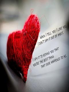 Hình nền tình yêu trái tim đỏ rực khát khao yêu thương