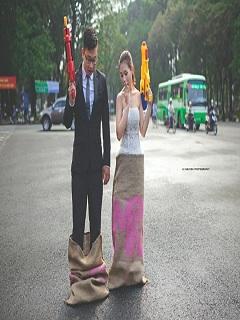 Những bức ảnh hài hước nhất Việt Nam cặp đôi hổ báo