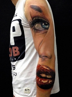 Những hình xăm 3d đẹp nhất trong thế giới tattoo