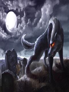 Hình nền 3d độc ma sói dũng mãnh và vô cùng quyền uy