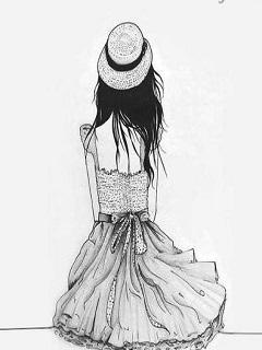 Hình nền hoạt hình cô đơn cực buồn và tâm trạng lẻ loi