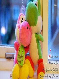 Tải ảnh dễ thương về tình yêu thú nhồi bông ngọt ngào