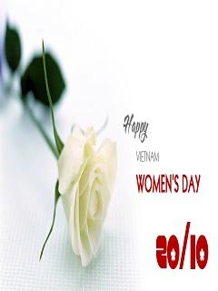Tải hình nền 20/10 ngày lễ tôn vinh phụ nữ Việt Nam